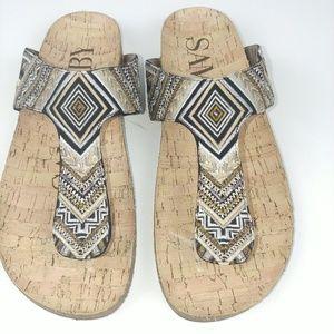 Sam & Libby Slip-on Thong Sandal